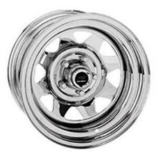 "JANTE  15 X 6  5T ""CHROME RALLY"