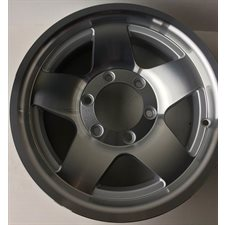 "JANTE  16 X 7  6T ""ALUM STAR +5MM OFFSET"